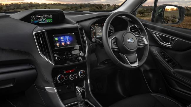 Subaru's safety tech has a Big Brother vibe. Picture: Supplied.
