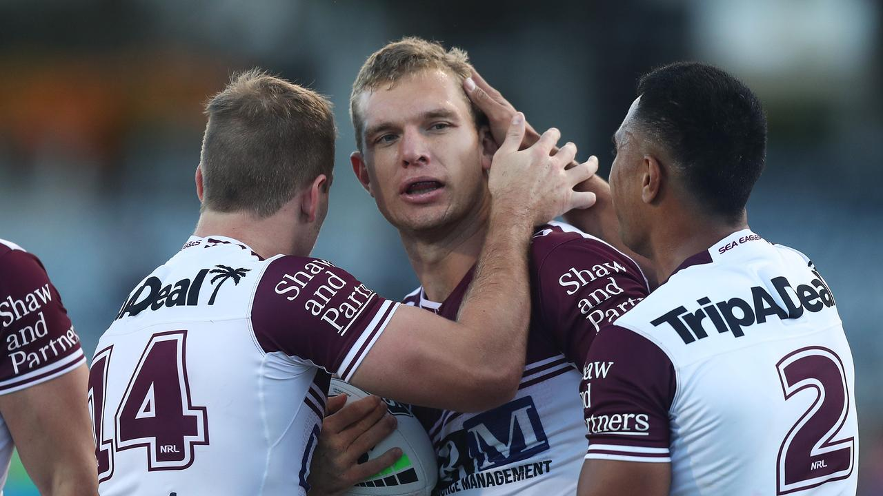 Manly's Tom Trbojevic faces a lengthy spell on the sidelines