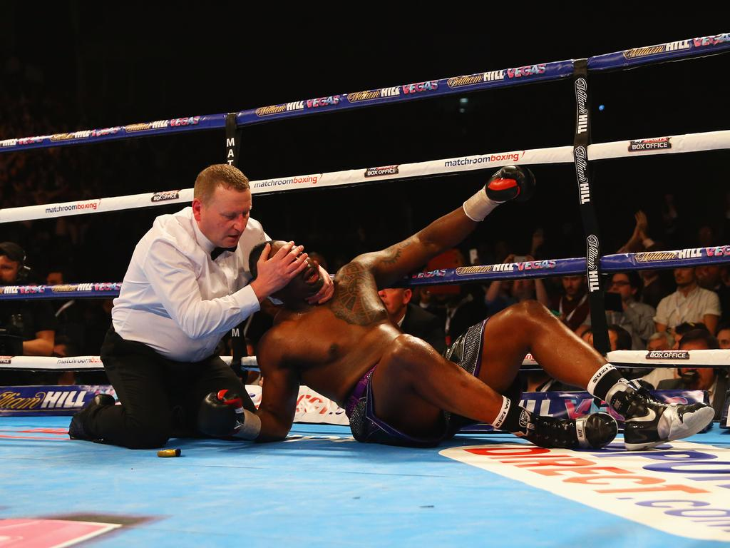 The only blemish on Whyte's record is a knockout defeat to Anthony Joshua.