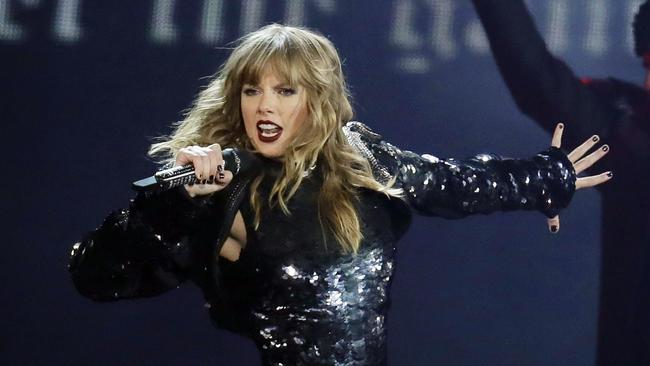 Taylor Swift has been criticised by some members of the country music community for 'going political'. Picture: AFP