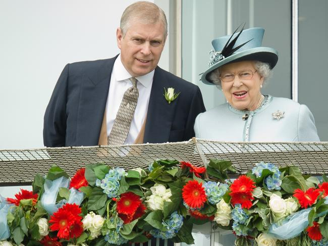 The Queen has come under attack for supporting Prince Andrew. Picture: AFP