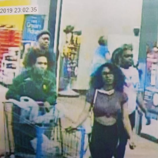 Police are also now seeking the man seen in the CCTV footage obtained from Walmart. Picture: Lufkin Police