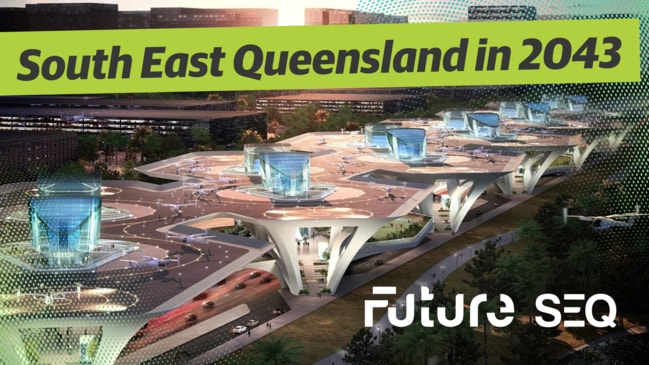 South East Queensland in 2043