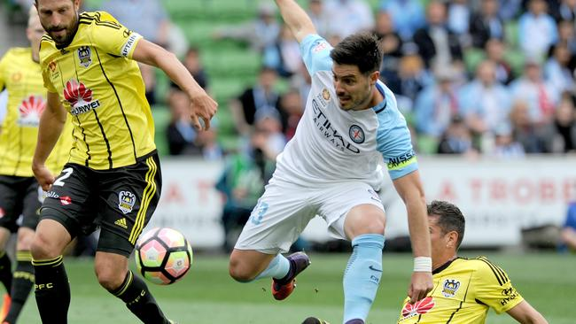 Bruno Fornaroli is among the A-League's top strikers. Picture: AAP