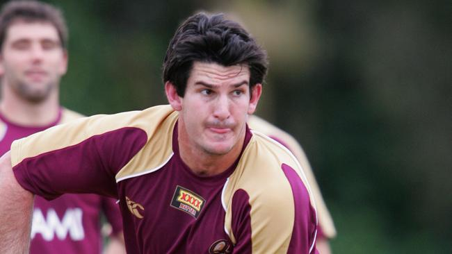Former Queensland player Chris Flannery has played a key role in the revival of the Falcons.