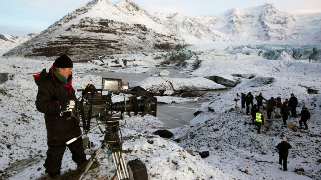 'Game of Thrones' filming in Iceland. Image: Supplied