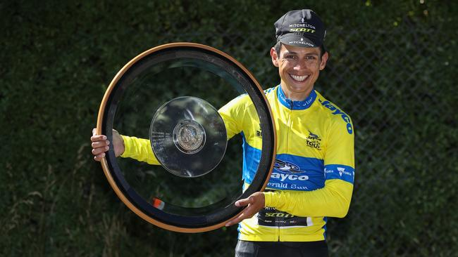 Esteban Chaves wins the 2018 Jayco Herald Sun Tour. Picture: Getty Images