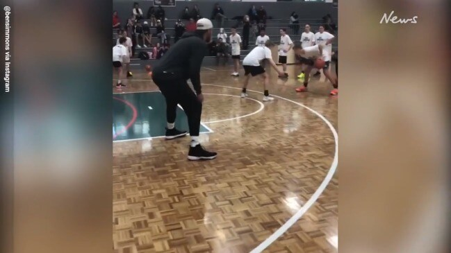Ben Simmons basketball camp