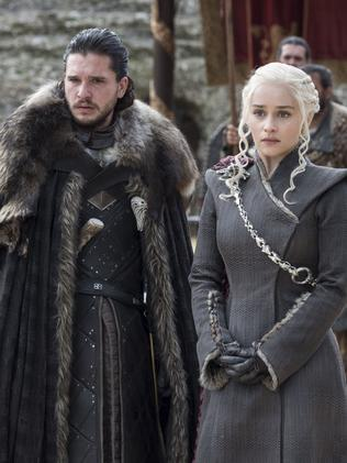 These two lovers will presumably have to discover they're related soon. Picture: HBO