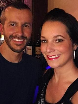 Chris Watts and his wife Shanann. Picture: Instagram