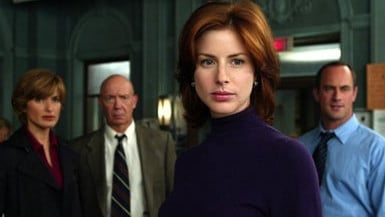 Neal as Casey Novak in the long-running crime series. Picture: Supplied.