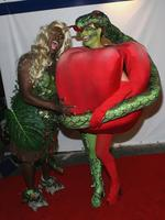 Once bitten ... The biblically-themed Seal and Heidi Klum arrive at Heidi Klum's 7th Annual Halloween Party at Privilege on October 31, 2006 in Los Angeles, California. Picture: Getty