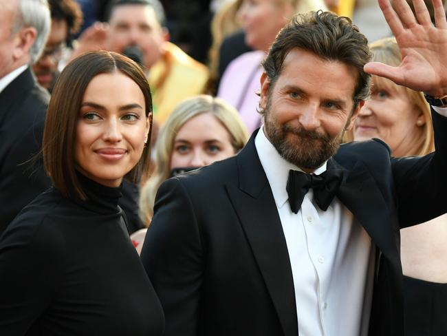 Irina Shayk moved out of the home she shares with Bradley Cooper last week. Picture: AFP