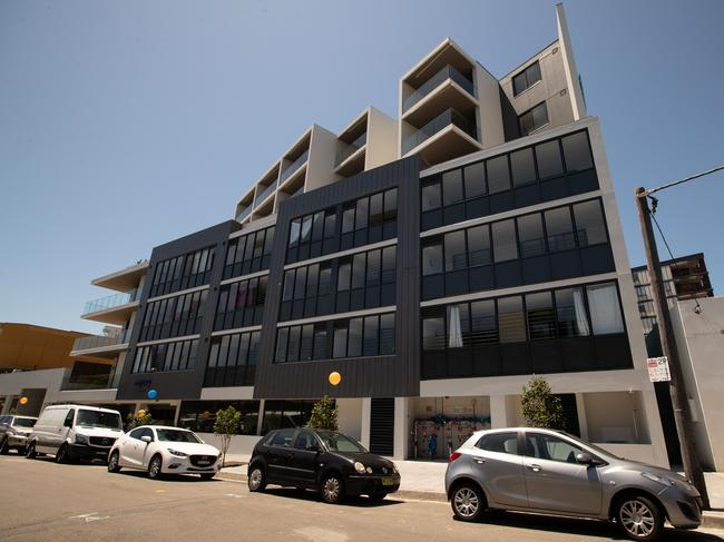One of several new apartment blocks in Dee Why that launched this year.