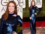 Julianne Moore attends the 73rd Annual Golden Globe Awards held at the Beverly Hilton Hotel on January 10, 2016 in Beverly Hills, California. Picture: Jason Merritt/Getty Images/AFP
