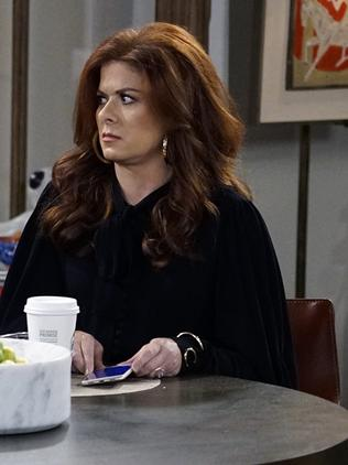 As has Will and Grace star Debra Messing. Picture: Stan