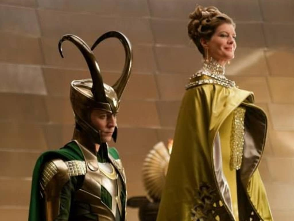 Loki and his mother Frigga's relationship was a formative part of Loki's emotional growth.