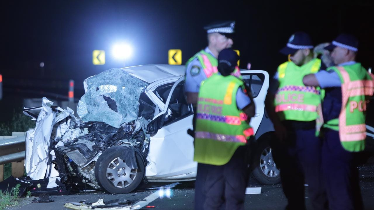 St Clair car crash: Woman dies in horror truck accident on