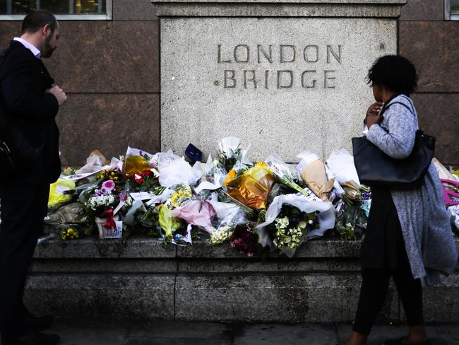 The terror attack rocked the entire nation, with floral tributes flooding London Bridge in the days after.