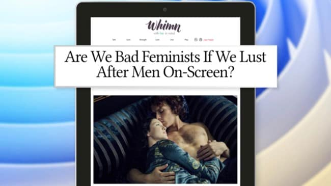 DAILY DILEMMA: Are we bad feminists if we lust after on-screen men?