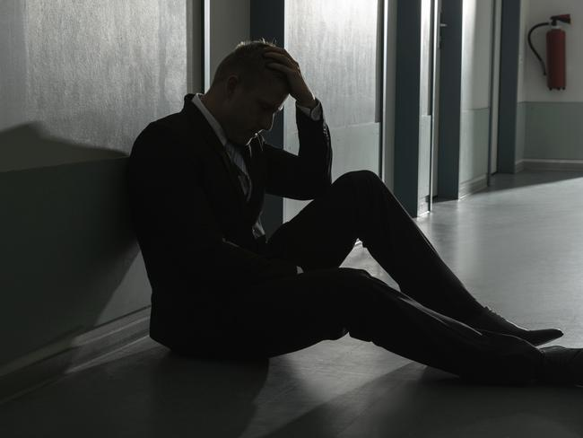 Suicide is the leading cause of death in Australian males aged 15-44. Picture: iStock