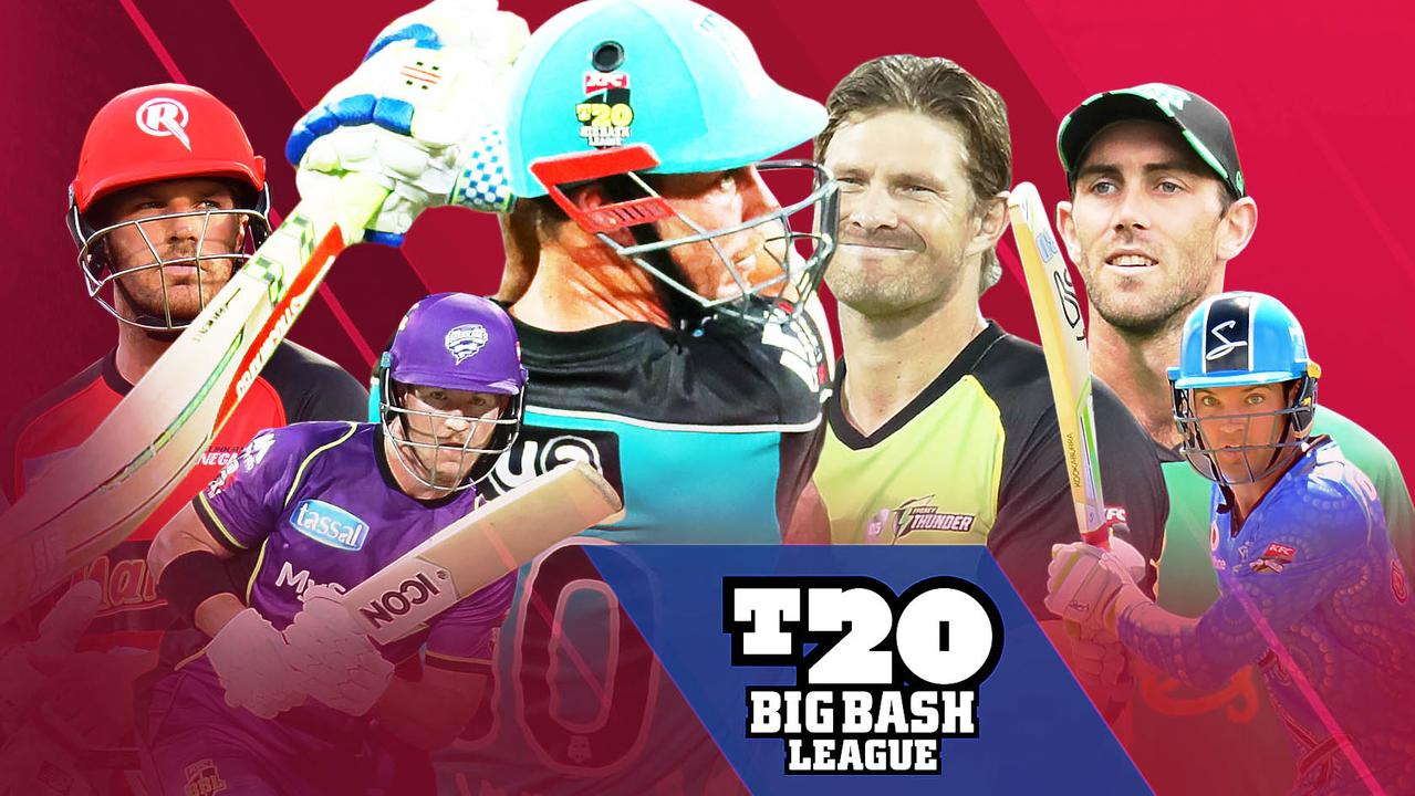 Big Bash League 2018-19 fixture list, dates, times, venues