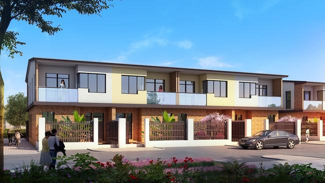 Arcadia Village is a residential project that will include townhouses in Calamvale.