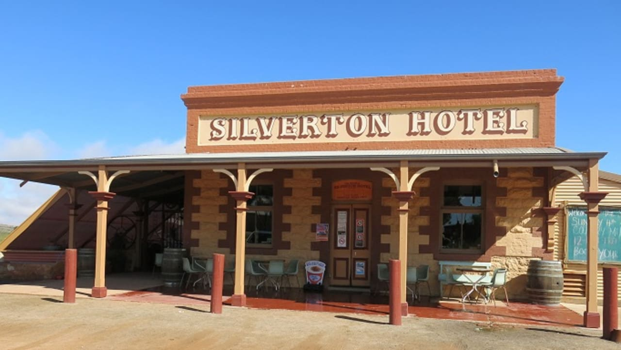 The Silverton Hotel near Broken Hill has been in more than 200 movies filmed in the area.