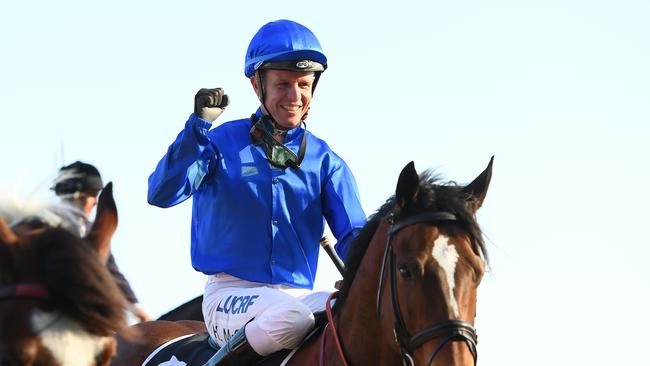 Kerrin McEvoy after another key win for Godolphin. Picture: Getty Images