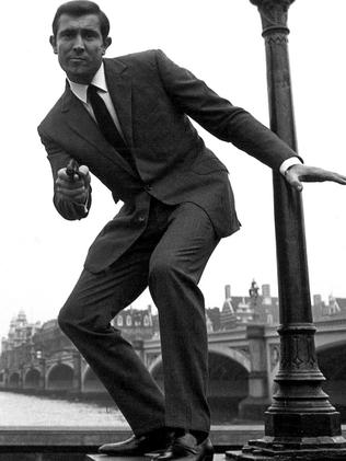 Australia's James Bond, George Lazenby, took over for one film after Sean Connery's turn as the famous spy. Picture: Supplied