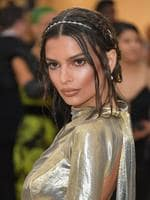 Emily Ratajkowski attends the Heavenly Bodies: Fashion and The Catholic Imagination Costume Institute Gala at The Metropolitan Museum of Art on May 7, 2018 in New York City. Picture: Getty Images