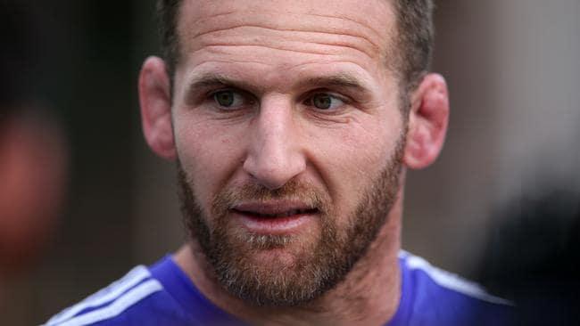 New Zealand rugby union captain Kieran Read.