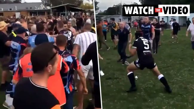 Football brawl erupts between two Hunter clubs