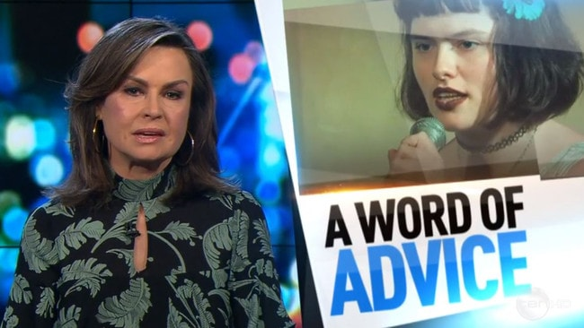 Lisa Wilkinson broke down in tears on Friday's episode of The Project. Picture: Channel 10