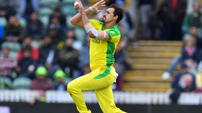 Mitchell Starc has taken nine wickets so far.