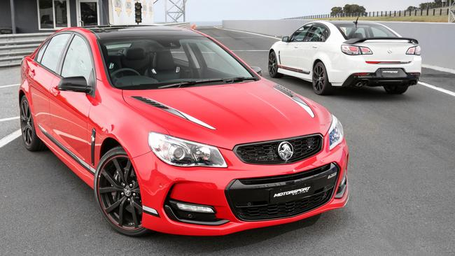 Holden Commodore V8 final editions