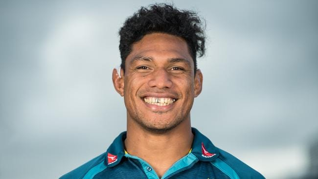 Lopeti Timani during his time with the Wallabies.