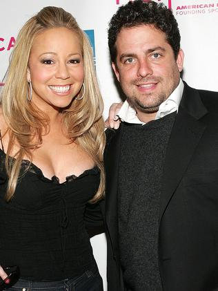 Mariah Carey and Brett Ratner. Picture: Getty