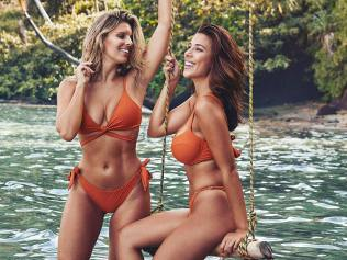Monday Swimwear founders, Natasha Oakley and Devin Brugman. Image: Supplied