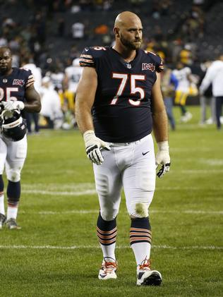 Kyle Long in his kit. Nuccio DiNuzzo/Getty Images/AFP
