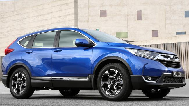 Ideal for families: Honda CR-V. Pic: Supplied.