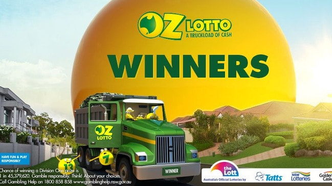 Two winners took out the $70 million Oz Lotto jackpot.