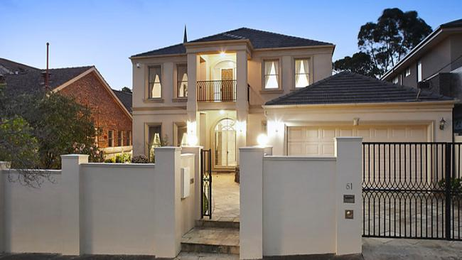 51 Sutton St, Balwyn North, fetched $2.43 million at auction after selling for $1.6 million in 2008.