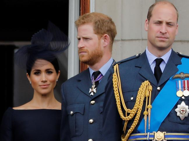 Harry opened up on his rift with William. Picture: AFP