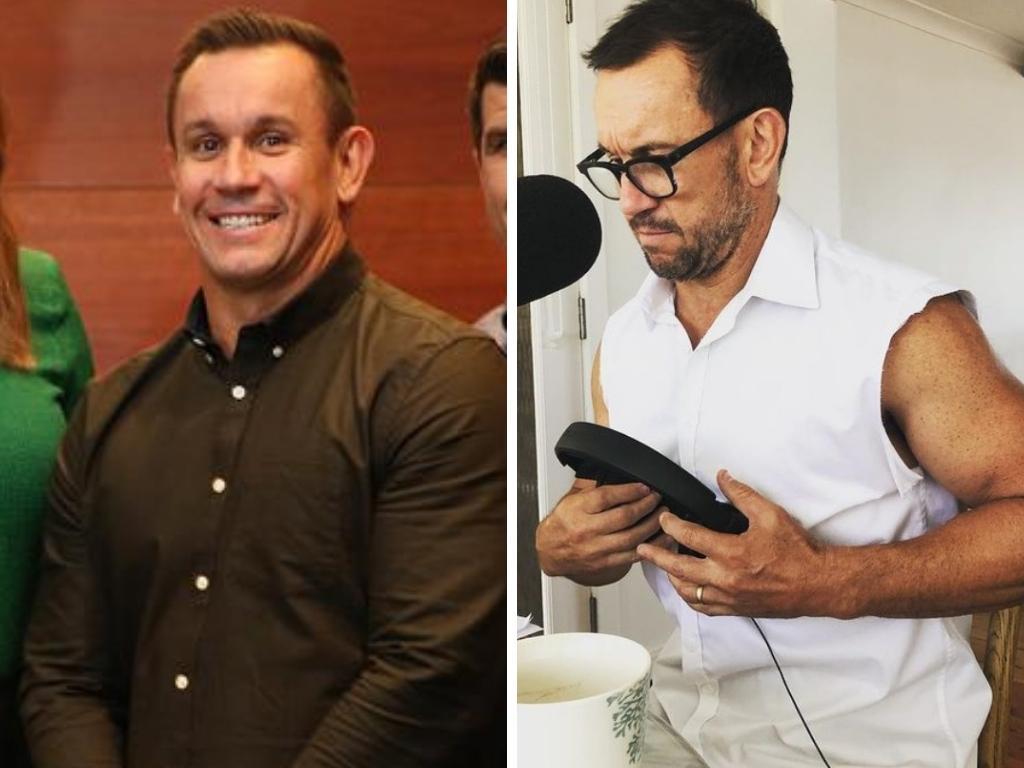 Matty Johns is fighting fit. Photo: Instagram, @mattyjohnsaus, News Corp Australia, Fox League.