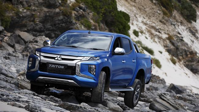The Triton has driving modes for gravel, mud, sand and rock.