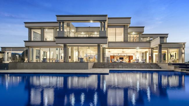 145 Edward Rd, Chirnside Park is seeking $8-$8.8 million.