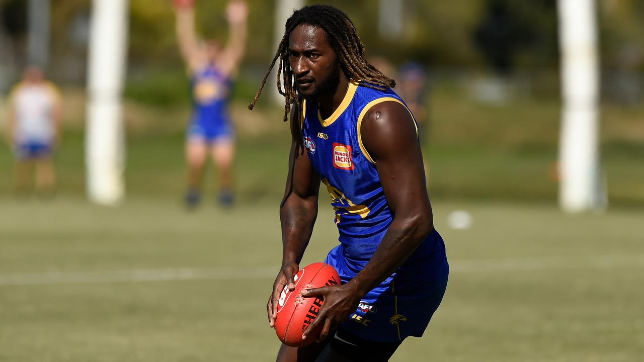 Nic Naitanui better get ready to run. Picture: Matt Roberts