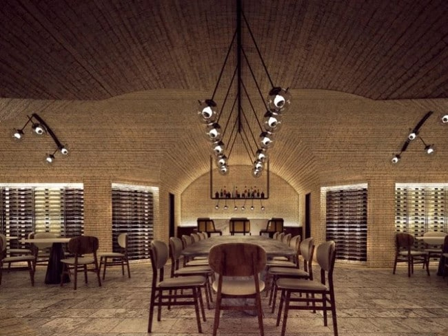 One of the new restaurants at the resort.
