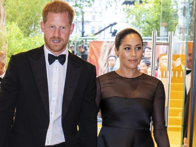 Harry and Meghan haven't used their new names yet. Picture: Getty
